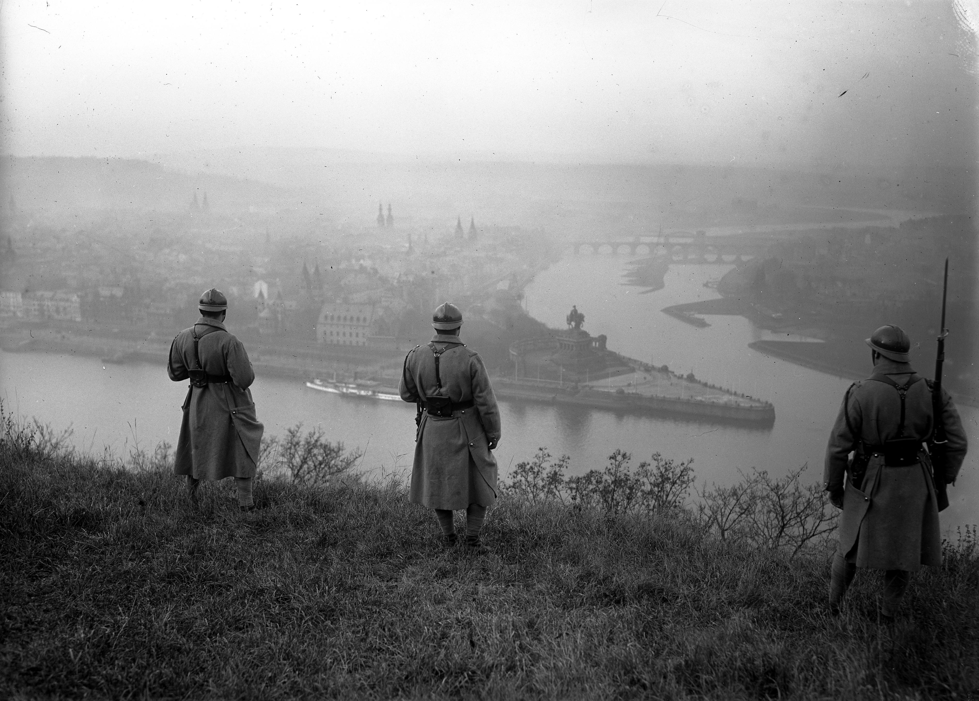 Koblenz-Ehrenbreitstein, Französische Soldaten