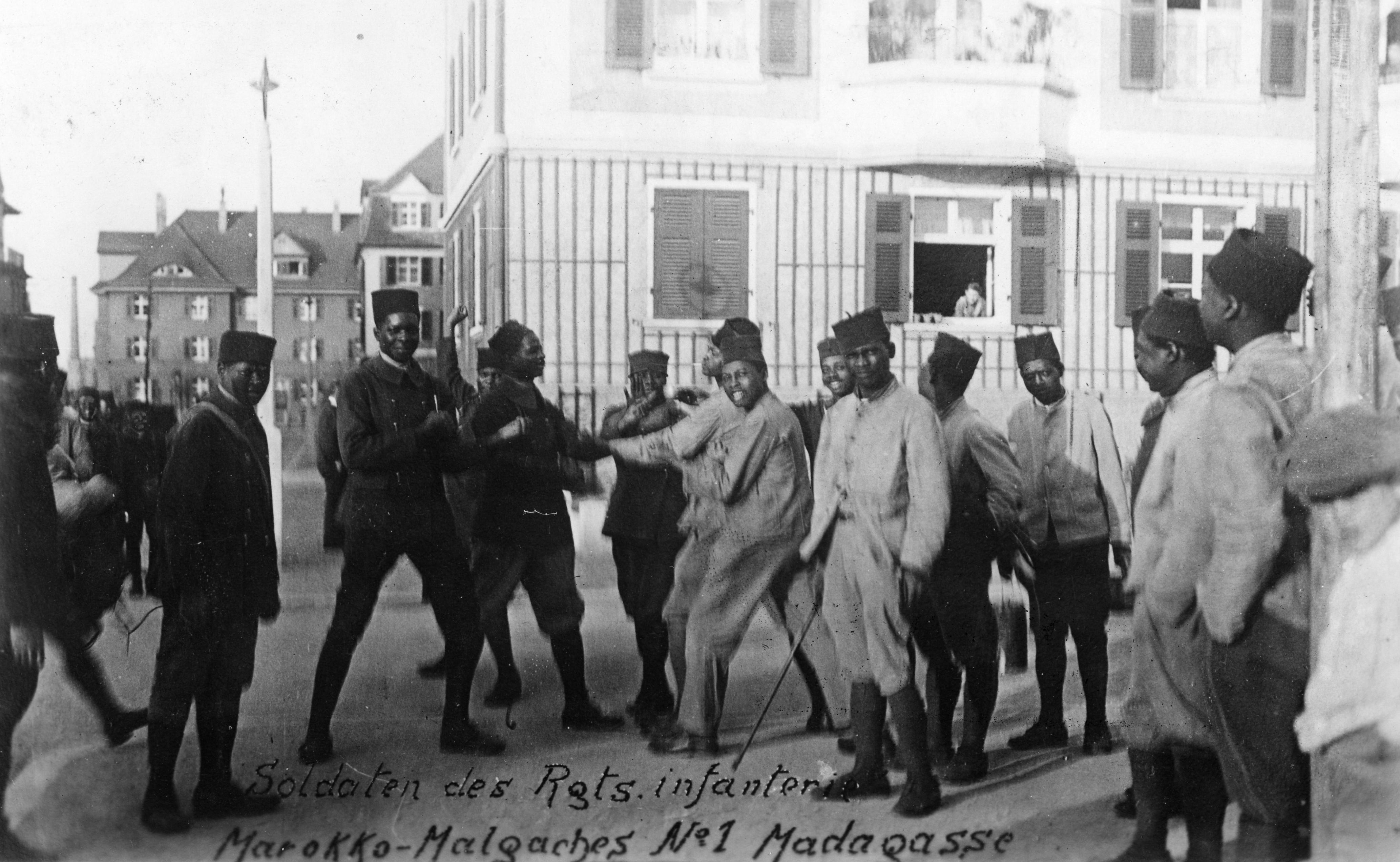 Ludwigshafen, Rheinlandbesetzung, Französische Truppen